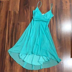 👗 Teal Dress